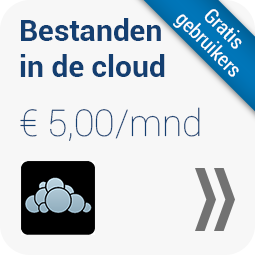 bestanden in de cloud